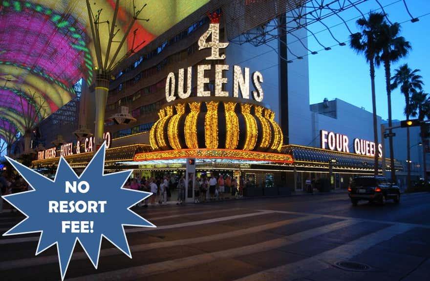 Four Queens Hotel and Casino (No Resort Fee)