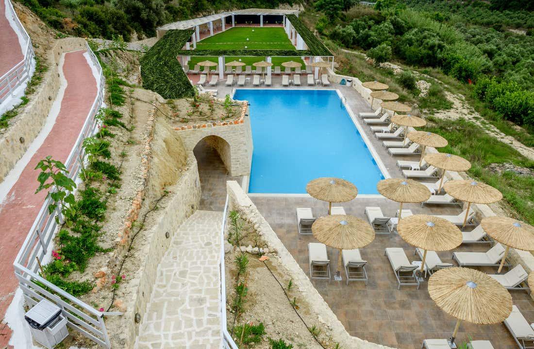 Rimondi Grand Resort Spa Hotel In Crete Rethymnon Holidays