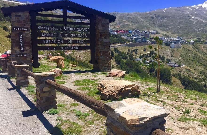 Inside Plaza Sierra Nevada