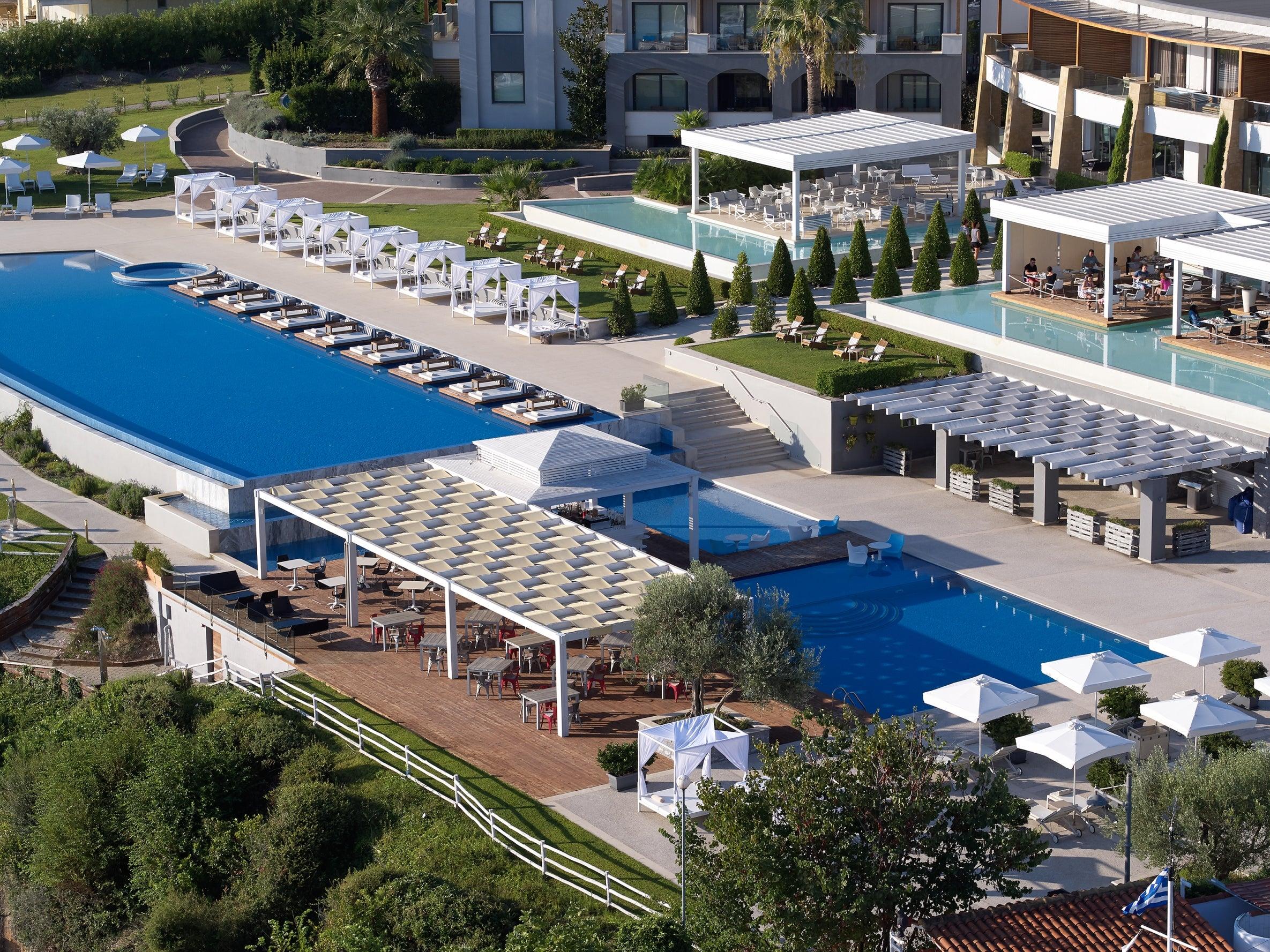 Cavo Olympo Luxury Hotel Spa Adults Only In Leptokarya Thessaloniki Loveholidays