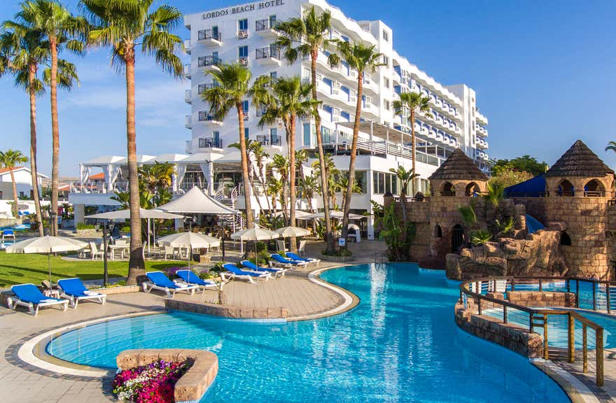 Lordos Beach Hotel And Spa In Larnaca