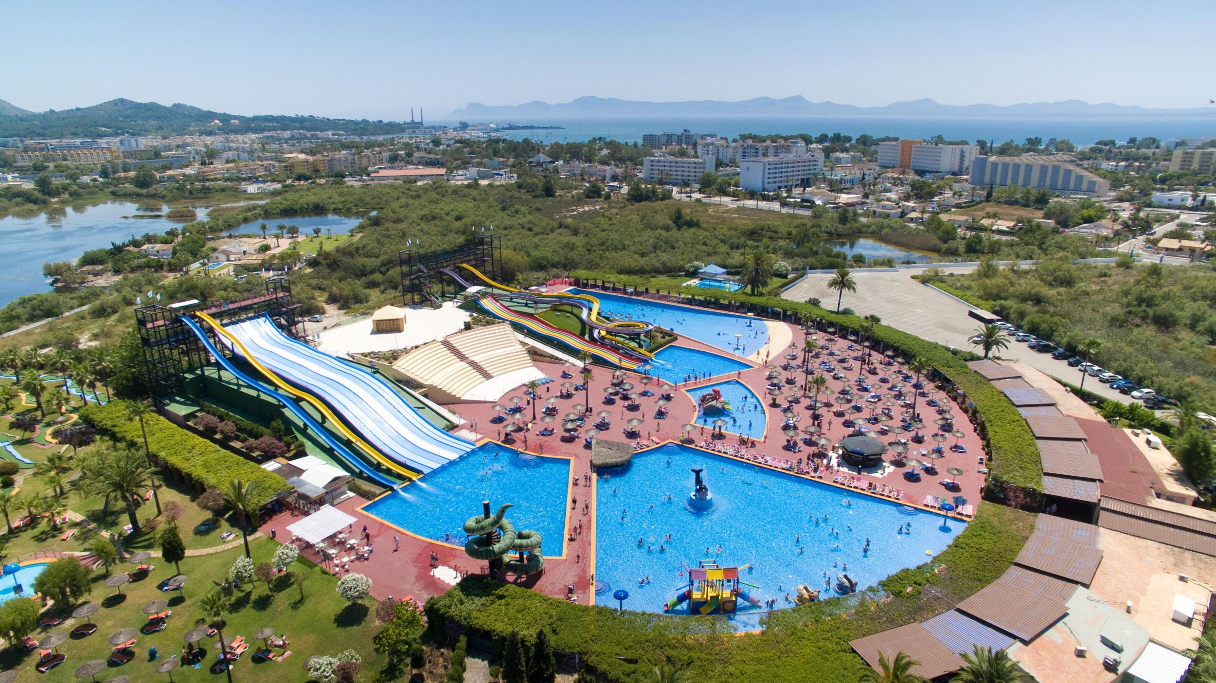 Club Mac Alcudia Resort  Waterpark in Majorca Alcudia